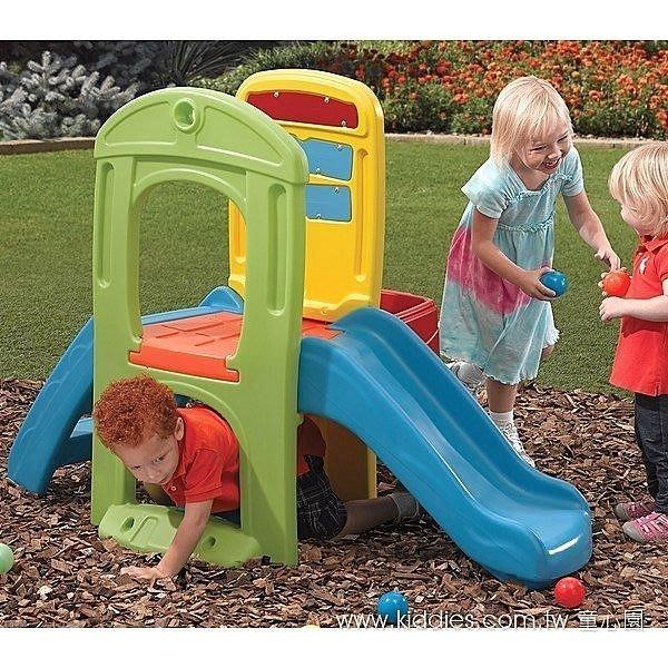 美國 Step2 玩球趣滑梯 《結合玩球樂趣與攀爬滑梯,多功能、多樂趣》◎童心玩具1館◎