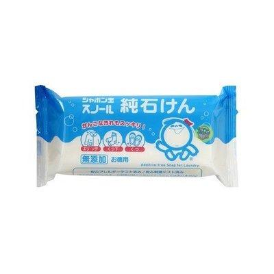 【JPGO日本購】日本進口 玉石鹼 石鹼洗衣皂 180g #105