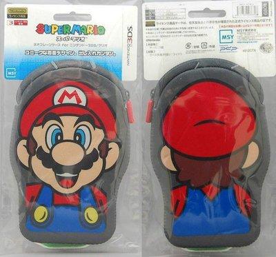全新未拆 NEW 3DS NDSL NDSi 日本正廠Mario瑪莉歐造型萊卡保護套