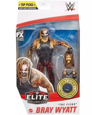 [美國瘋潮]正版WWE Bray Wyatt The Fiend Top Picks Elite 惡魔家族面具精華版人偶