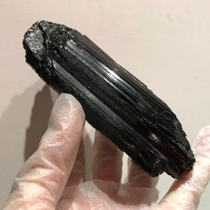 黑碧璽 電氣石 原礦 擺陣 12公分 沒底座