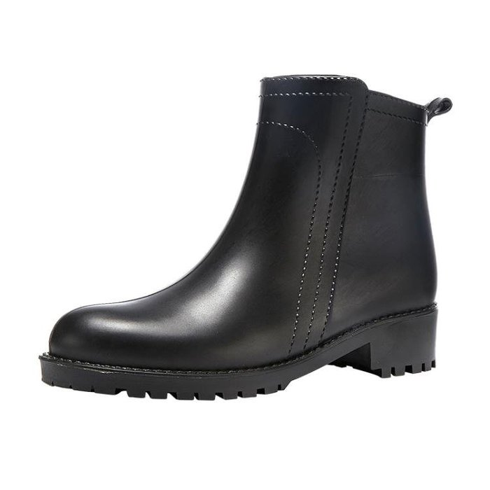雨靴 雨鞋女短筒韓國可愛時尚款外穿防滑水鞋防水雨靴成人套鞋加絨保暖