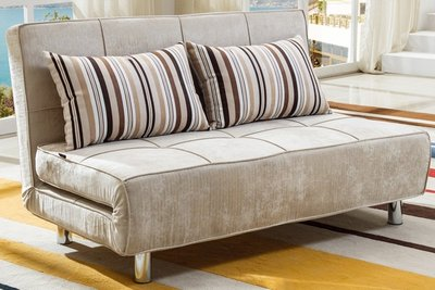 【DH】商品貨號n704-1商品名稱《維爾》布面座/臥。兩用沙發床 打造舒適居家經典。主要地區免運費
