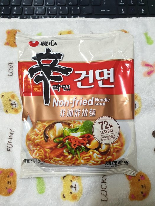 ~魔寶窩~韓國農心非油炸辛拉麵,單包