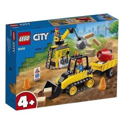 LEGO 樂高 60252 City 城市系列 工程推土機