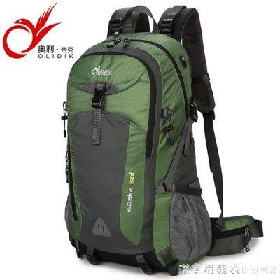 唐嫣同款包登山包雙肩男旅游輕便防水超大容量徒步旅行戶外背包女