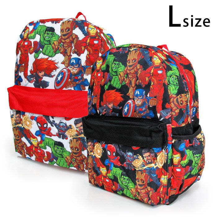 《FOS》日本 漫威 英雄 鋼鐵人 美國隊長 蜘蛛人 兒童 後背包 書包 大容量 孩童 小孩 開學 上課 禮物 新款