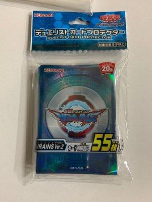 [美]遊戲王 卡套 (贈普卡30張 )55枚 VRATNS Ver.2 63*91mm 適用 收納 收藏 禮物