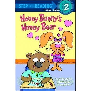 全新轉賣敦煌書局購入Step Into Reading: Honey Bunny's Honey Bear