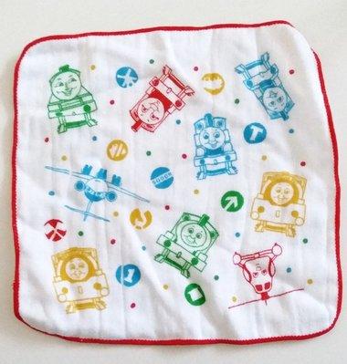 Osmileooo-thomas卡通純棉毛巾 手巾仔 兒童手帕 20×20cm