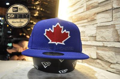 New Era MLB Toronto Blue Jays On-Field Pre2017藍鳥舊式球員帽左側無logo