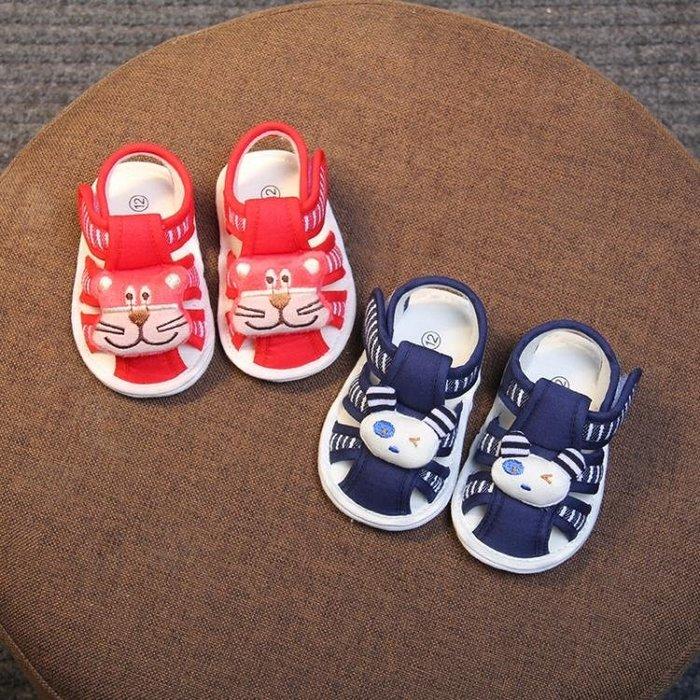 童鞋/涼鞋 夏季0-1歲男女童軟底鞋子嬰幼兒防滑透氣小布鞋