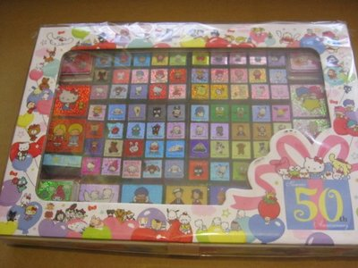 Celebrating 50 Years of Sanrio 2010 Various Characters (91) Stamps