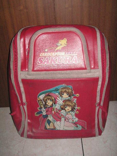 【小學生防水書包】SAKURA紅色書包