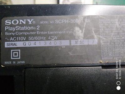PS2--SCPH-30007R---不分售 3台—1,500元