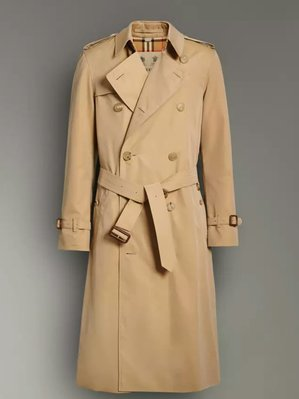 *旺角名店* ㊣ Burberry Established 1856 英國製 長款 Heritage Trench 風衣
