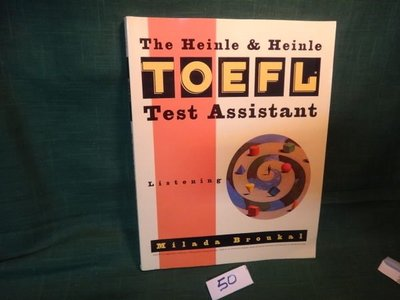 【愛悅二手書坊 06-54】The Heinle & Heinle TOEFL Test Assistant
