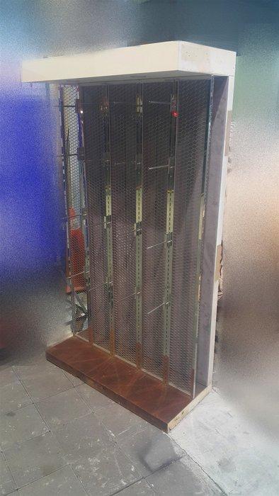 樂居二手家具 D0129DJJH 白色吊飾展示櫃 收納櫃 展示櫃 置物櫃 書架 仿古家具 全新中古傢俱家電 台北桃園新竹