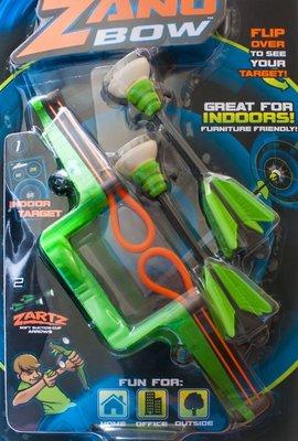 ZING ZANG BOW 吸盤 兒童 安全弓 弓箭 室內 戶外 可用 GOBID