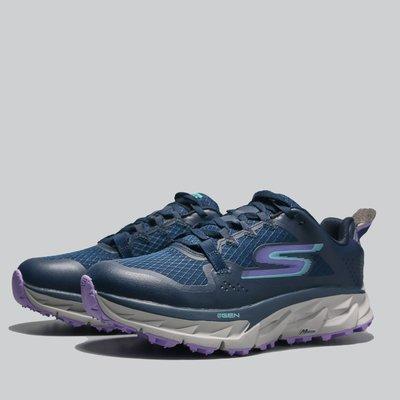 小鬼嚴選 SKECHERS 休閒鞋 GO TRAIL ULTRA 4 深藍 防潑水 機能 越野鞋 女172030NVLV