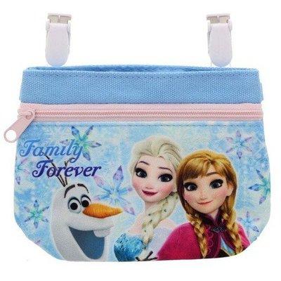 41+現貨不必等 迪士尼公主 冰雪奇緣 行動口袋 吊掛式 可放手帕 面紙 小物 掛在裙子 褲子 腰間