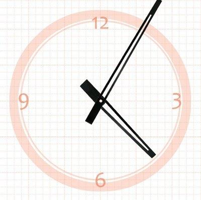 【鐘點站】 J162105  SKP壓針機芯 / 分針16.2公分 時針10.5公分 / DIY 時鐘 掛鐘 鐘針