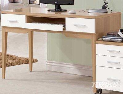 【DH】商品編號415-804-3商品名稱今涵4尺雙色造型電腦桌。精品經典優美。主要地區免運費