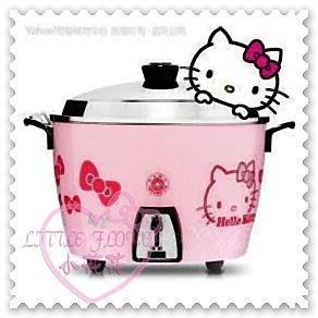 小公主日本精品 Hello Kitty 大臉頭好實用多功能 粉色限量萬用電鍋 燉鍋