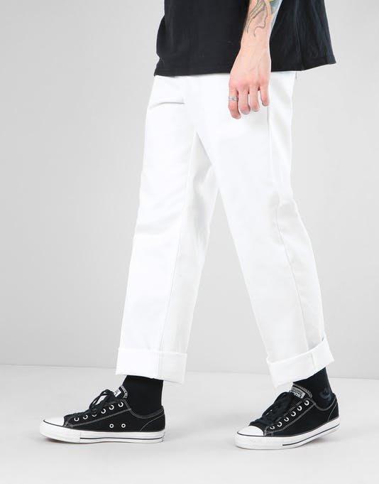 OVERLORD DICKIES 874 WORK PANT, WHT 滑板 工作 長褲