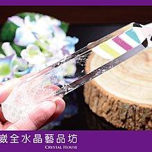 【崴全水晶】天然 白水晶 雷射 激光柱 淨化 鎮宅 避邪【約 167.1g】
