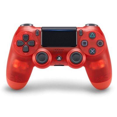 SONY PS4 原廠 無線控制器 新版 震動手把 D4 台灣原廠公司 水晶紅 CUH-ZCT2G18【台中恐龍電玩】