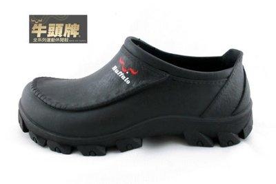 現現貨不用等-牛頭牌 【912218】 PVC 防水 防油 防滑 膠 鞋雨鞋 廚房 工作鞋 廚師鞋 考試 丙級