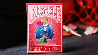Mermaid 撲克牌 (Red) by US Playing Card Co【USPCC撲克】S103049644