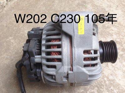 BENZ W202 C230 發電機 [老車DIY]