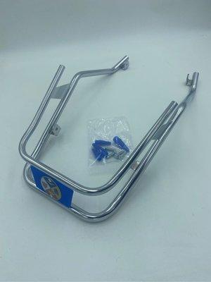Vespa Ze Gang Px150e p150x專用前土除保桿(藍色)