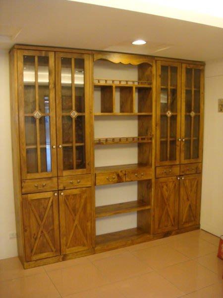 原木工坊~ 原木系家具訂作 實木書櫃收納櫃