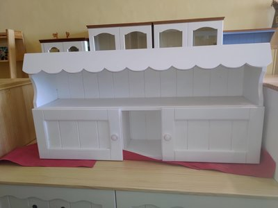戀戀小木屋 屋頂壁櫃 白色壁櫃 現貨