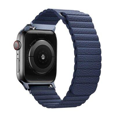 【鑫志配件】Promate Apple Watch 42/44mm 高質感磁吸式錶帶(Lavish)