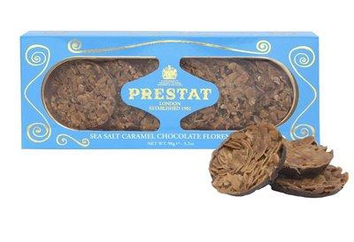 (預購)英國 PRESTAT 海鹽焦糖佛羅倫斯巧克力餅乾 sea salt caramel chocolate florentines 90g