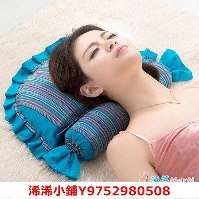 浠浠小鋪黃豆頸椎枕頸椎專用枕頭蕎麥皮護頸枕成人修復非治療單人黃豆枕芯igo