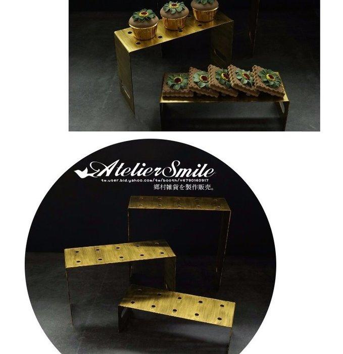 [ Atelier Smile ] 鄉村雜貨  北歐風  復古金屬推推筒 蛋糕架 展示架 # 高款 (現+預)