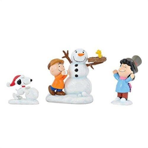 【Dona代購】現貨 美國Enesco精品雕塑 史努比聖誕節擺飾雪人 造型塑像 木雕風公仔擺飾 雕像模型