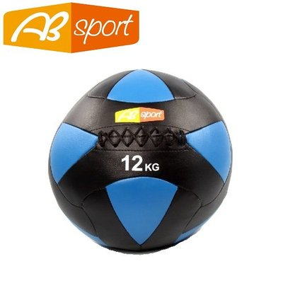 【健魂運動】PU皮革軟式藥球 12公斤(AB Sport-PU Medicine Balls 12kg)
