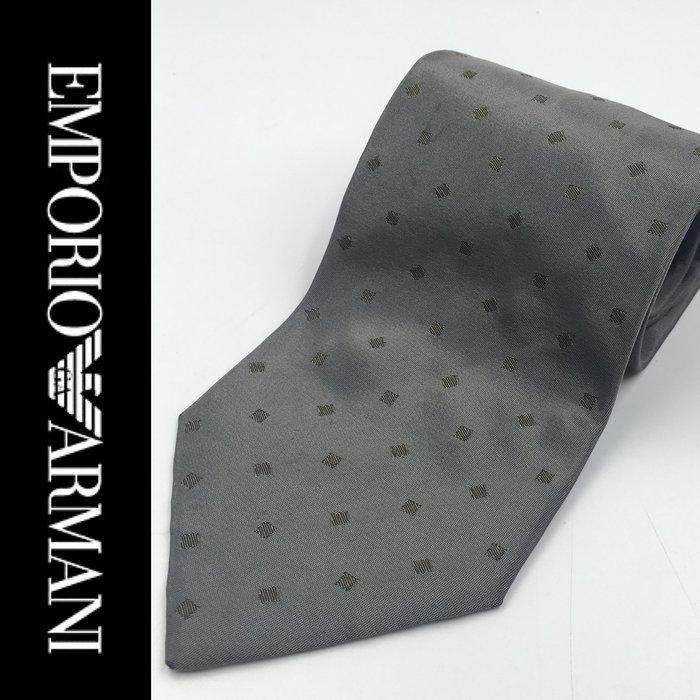 【皮老闆二店】領181 二手正品 EMPORIO ARMANI 領帶 義大利製