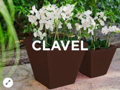 【歐洲工藝】信禾貿易-全新引進歐洲品牌 西班牙製造Newgarden戶外泳池花園家具 CLAVEL花盆