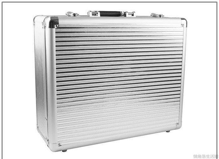 {源品家}加厚大號工具箱 多功能鋁合金工具箱 儀器箱展示箱手提箱道具箱Y~P571