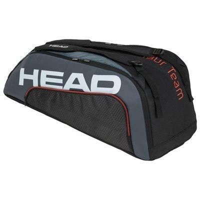 【曼森體育】HEAD TOUR TEAM 9支裝 球拍袋 黑色 Supercombi 網球拍袋