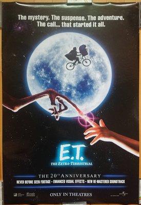 E.T.外星人 (E.T. the Extra-Terrestrial)-美國上映20週年紀念原版電影海報(2002年)