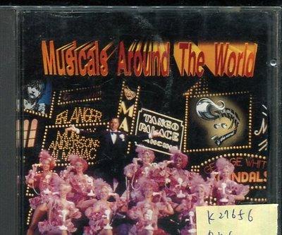 *真音樂* MUSICALS AROUND THE WORLD 二手 K27656 (缺封面)