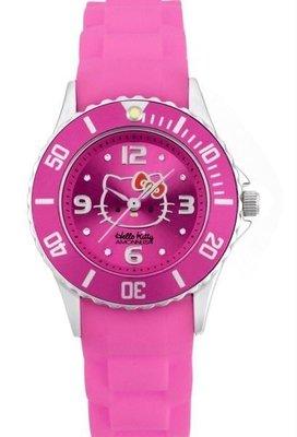 GIFT41 4165本通 三重店 Hello Kitty&AMONNLISA 運動手錶 AMKT1212PK 粉